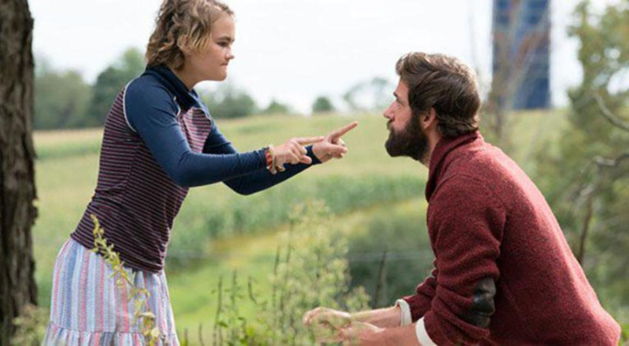the father's love in a quiet place - Bruxy